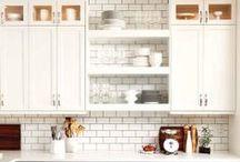 k i t c h e n / Dream kitchens.  / by Heather's Dish