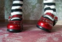 the ANGELS  want to wear my red shoes / here is a little secert angels love red shoes..... / by Glorianne Roccanova