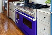 A RANGE of Color / Customize Your Range - Choose colors, sizes, fuel types, and burner configurations to create a truly one-of-a-kind Viking range. / by Viking Range, LLC