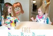 Kid-tivities / Activities to do with babies, toddlers and preschoolers.