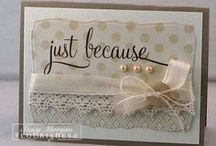 Cards And Tags / by Betty Booher