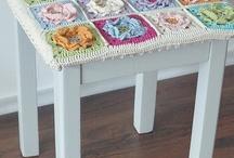 Crochet Deco/Casa 1- Crochet Deco Home 1 / by Gato Chirolio !