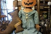Halloween and  Fall items  / Items in the shop for fall decorating. http://www.sharonrenningersgatherings.com