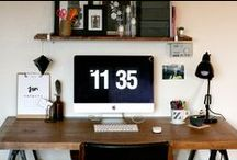o f f i c e / Elements of the perfect dream office. / by Heather's Dish