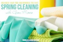 Cleaning Tricks and DIY Tips / The one-stop shop for all your house cleaning needs: tips, ideas, hacks, routines, schedules, DIY natural cleaners and much more! / by Rachel {1Crazy House Tips}