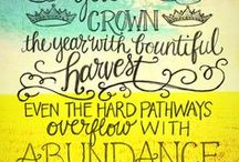 One Word: Abundance