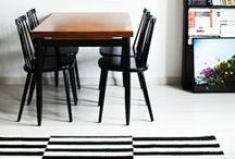Black & white / Inspiration for home & decoration.
