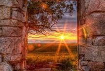 Příroda, výhledy apod.  / Nature, beautiful views, amazing photos of cities...