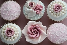 cup cakes with love