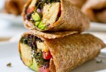 Eat Me: Wrapped up / Delicious wraps! Mostly vegan, the ones that aren't, are easily veganized. / by The Socially Awkward Ⓥegan.