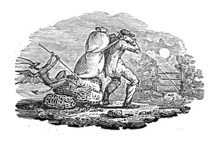 "Life In Miniature – The Extraordinary Vignettes  of Thomas Bewick / ""A unique collection of 226 wood-engravings by celebrated English wood engraver and ornithologist Thomas Bewick (proof impressions), chosen by himself"". These vignettes are wonderful representations of daily life and each is but a few inches big, so the level of detail is truly incredible. As Charlotte Bronte's Jane Eyre put it ""Each picture told a story; mysterious often to my undeveloped, understanding and imperfect feelings, yet ever profoundly interesting""."