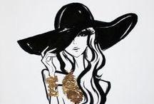 stylishly inspired: illustration.