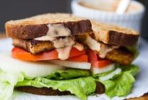 Eat Me: Vegan Sandwiches. / Scrumptious cruelty-free sandwich recipes! / by The Socially Awkward Vegan Ⓥ .
