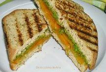 Sandwiches, bocatas, tostas