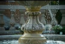 WATER FEATURES / Everything Water! Fountain, spa, reflecting pools, pond, waterfall, laminar jets