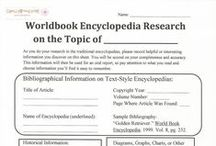 Research Paper Handouts on Pinterest / All of these handouts are free to print on EnglishEmporium.WordPress.com