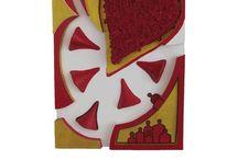 Tegelkunst / Atelier tegelkunst, mozaïek kunstwerken met tegels, smalti en millefiore