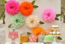 Party Decor / Inspiration for party decorations for your next party.