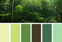Color Scheme - Greens