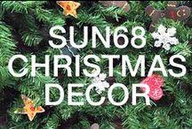SUN68 ♡ CHRISTMAS DECOR / Pronti per il Natale? Neve, serate vicino al camino, dolci, regali e…addobbi! SUN68 vuole condividere con voi l'attesa del Natale e darvi degli spunti per le decorazioni.   Questa bacheca è aperta! Segui SUN68 per essere invitato a partecipare. Potrai condividere altri pin e caricare le fotografie dei tuoi addobbi natalizi!