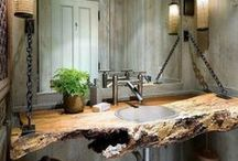 Washroom Project / Interior Design of Washroom for a Naturist