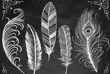 Chalkboard Art + Handlettering