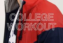 SUN68 ♡ COLLEGE WORKOUT / From Californian skater boys to street style, here is a combination of college look inspired must-have pieces for the coming season.