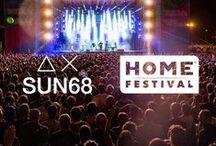 SUN68 ♡ Home Festival / SUN68 @ Home Festival 2016 con SUN68 HUB: musica, workshop, eventi e passione.