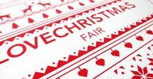 LoveChristmas Fair / The LoveChristmas Fair is a yearly charity event that brings together an exceptional array of boutique shops, hand-picked from all over the UK for the very best in Christmas shopping.   #branding #print #graphic #design