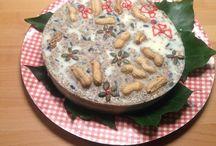 Vogeltaart / Zelfgemaakte vogelvet taart