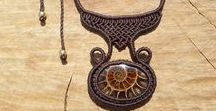 macrame necklace by ARTEAMANOetsy