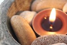 Candles & fairy light