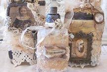 Flaschen und Gläser / by Nicole Dittmann