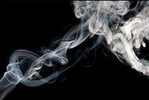 Smoke / Interesting shapes of smoke.