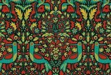 Паттерны с орнаментами/Patterns with ornaments
