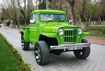 Willys Overland  truck / 1953 Willys  overland