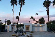 PALM SPRINGS / Architecture, houses, modern, contemporary
