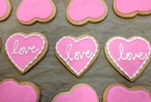 Valentine's Day / Delicious treats for sweetie pies.