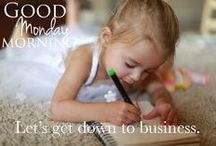 Monday Motivation / #MondayMotivation