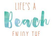 Beach Day / Life's a beach...