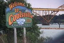 COOLSVILLE / Hometown of those meddling kids and their dumb dog.