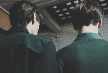 {HP} Ambition / Or perhaps in slytherin, you'll make your real friends, those cunning folk use any means, to achieve their ends.