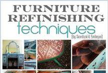 Refurbishing Furniture Ideas / Refinishing used furniture