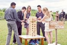Wedding Games / Ideas for games to include at your reception, bridal showers and bachelor(ette) parties.