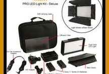 Bags, Cases, Chairs & Lights