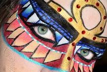 "Makeup ""Masquerade"" Masks"