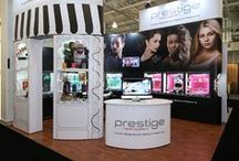 Stand Out at Trade Shows / Our Prestige Event System sure does get out and about!