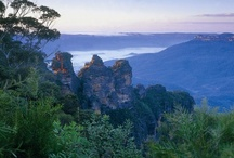 The Blue Mountains / The Blue Mountains, NSW, Australia