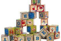 Contrucciones / Piezas de madera para jugar a apilar, y darle rienda a tu imaginación.