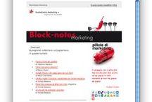 """BlockNotes Marketing / Iscriviti a """"Blocknotes marketing"""" e riceverai gratis una volta al mese notizie, approfondimenti e novità su #marketing, #comunicazione e gestione #vendite"""